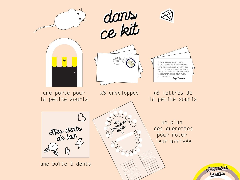 Kit Passage De La Petite Souris Dent De Lait
