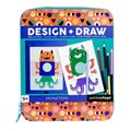 Petit collage -CRAFT kit on-the-go creer dessiner- monstre-01
